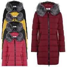 Piumino donna ARTIKA Snowfall Fur Jacket N058 cappuccio giubbotto cappotto lungo