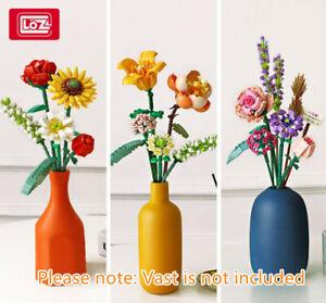 LOZ Eternal Flower Building Blocks 1657 1658 1659 Decor Mini Building Bricks Toy