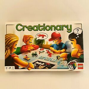 Lego Creationary Board Game Set #3844 Complete