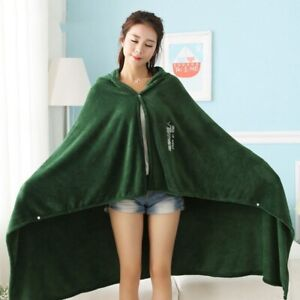 Attack on Titan Blanket Cloak  Cloak Cape Flannel Cosplay Costume Hoodie hotsell