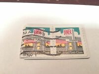 Stamp, USA, Presorted First-Class, DINER, 1998, Set of two (2)