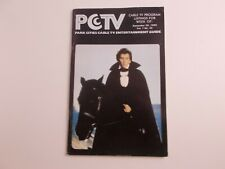 DFGH    pctv CABLE TV GUIDE-   texas- vampire  sept. 1980   vintage