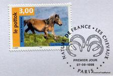 CHEVAL LE POTTOK  FRANCE  Yt 3184 OBLITERATION 1er JOUR NOTICE PHILATELIQUE