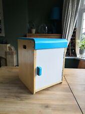 Santoy Wooden Pretend Play Toy Fridge Mini Kitchen Cupboard