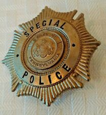 Vintage Pennsylvania PA STATE Special POLICE Badge Pin Obsolete 1950s? 1960s?