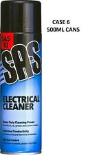More details for x 6 switch contact cleaner electrical large size 500ml