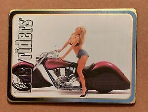 350) EASY RIDERS 1994 Metallic Images ARLEN NESS'S 1990 Harley Davidson Card LOT