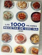 LAS 1000 MEJORES RECETAS DE COCINA - SERVILIBRO - 349 PÁGINAS - VER INDICE