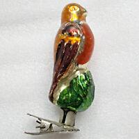 Antiker Russen Christbaumschmuck Glas Weihnachtsschmuck Ornament Vögel MagicBird