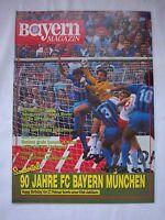 Orig.PRG   1.BL   1989/90   FC BAYERN MÜNCHEN - WALDHOF MANNHEIM  !!  SELTEN