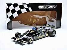 Ronnie Peterson  Minichamps Lotus Ford 79 1:18 Scale Mint