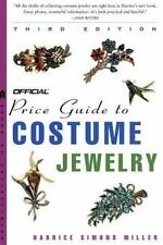 The Official Price Guide to Costume Jewelry, 3rd edition, Harrice Simons Miller,