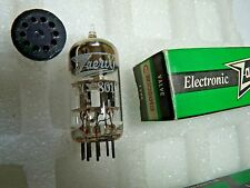 ECC801S Z&I By Brimar Blk Plate C New Old Stock Electronic Valve 1PC M17D
