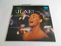 June Christy The Song Is June LP 1958 Capitol Stereo Pete Ruggolo Vinyl Record