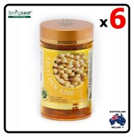 6x Homart Springleaf Lecithin 1200mg 200 capsules