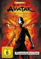 AVATAR - BUCH 3: FEUER, KOMPLETT AMARAY  4 DVD NEU  DAVE FILONI/ANTHONY LIOI/+