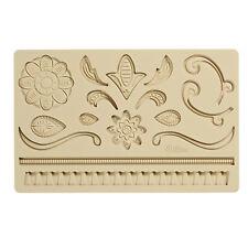 Wilton #2557 Lace Fondant Gum Paste Silicone Decorating Creative Sugarcraft Mold