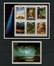 R776  Cook Islands  1986  space Halley's Comet    sheets   MNH