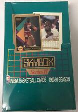 1990-91 Skybox Hoops Series 2 Basketball Hobby Box Sealed 36 Pack FREE SH