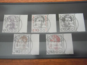 Germany - Berlin Set of Stamps Year 1988 used Famous Women (margins)