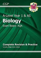New A-Level Biology: AQA Year 1 & AS Complete Revision & Practice with Online ,