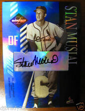 Stan Musial 2003 Leaf Limited 1/5  Autographed Game Used Jersey Card 1/1