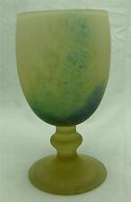 Le Verre Français, vase / verre, signé.