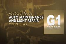 Complete ASE G1 Auto Maintenance & Light Repair Test Prep Program/DVD/Manual 261