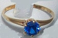 NEW children's birthstone ring,10K gold made U.S.A.