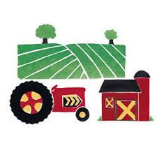 Wallies Wallpaper Cutouts Farmland