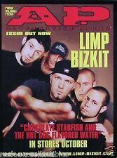 Limp Bizkit 2000 Chocolate Starfish Original Alt Press Promo Poster