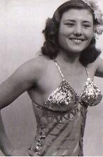 Foto d'epoca Ballerina di varietà fine anni Cinquanta