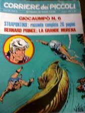 Corriere dei Piccoli 33 1970 Strapuntino Blueberry