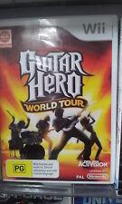 Guitar Hero World Tour Wii Game PAL