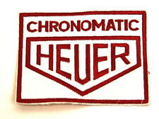 Heuer Stopwatch Embroidered Jacket Patch