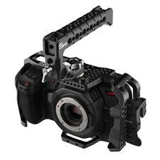 8 Sens BMPCC 4k Blackmagic Pocket Cinema Camera 4k Cage + Top Handle Scorpio alu