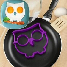 BREAKFAST Novelty Owl Funny Side Up Skull Fried Egg Mould Fun Breakfast For Kids
