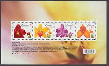 Canada -  #2243 FLOWERS SOUVENIR SHEET 2008 Rates - MNH