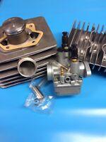 Simson Tuning-Zylinder Set 60-ccm 4 Kanal  S51 KR51/2 SR50 Rennvergaser ALMOT