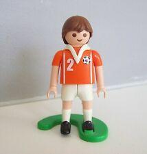 PLAYMOBIL (V5231) SPORT - Football Equipe Nationale Hollande + Support 4713
