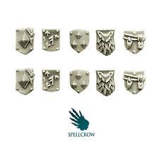 Spellcrow-Escudos pequeño para los Lobos Caballeros en armadura pesada de espacio-Lobos Bits
