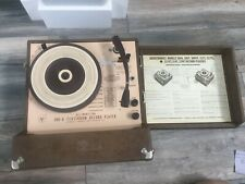 Audiotronics 300-A All-Transistor 4-Speed Classroom Record Player
