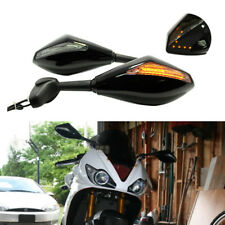 Arrow LED Turn Signals Racing Mirror Clear Black For Triumph Daytona 955i 675 US