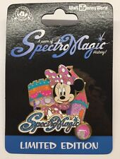 Disney Pin A Piece Of Spectromagic History Minnie Mouse New Disney World Pin LE