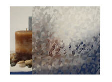 """Clear Ice Crystals Static Cling Window Film, 36"""" Wide x 1 yd. Sold by the yard"""