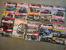 Banzai! Magazines x18 and 2x Japanese Performance magazines