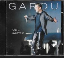 CD ALBUM LIVE 14 TITRES--GAROU--SEUL AVEC VOUS.../ TOURNEE 2001