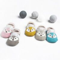 Soft Baby Shoes Floor Socks Infant Toddler Cartoon Boy Girl Indoor Non-Slip