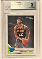 Cam Reddish 2019-20 Donruss Rated Rookie #209 RC Atlanta Hawks BGS 9.0 Mint!