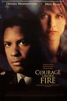COURAGE UNDER FIRE - 1996 ORIGINAL MOVIE POSTER 40x27 ROLLED DOUBLE SIDED